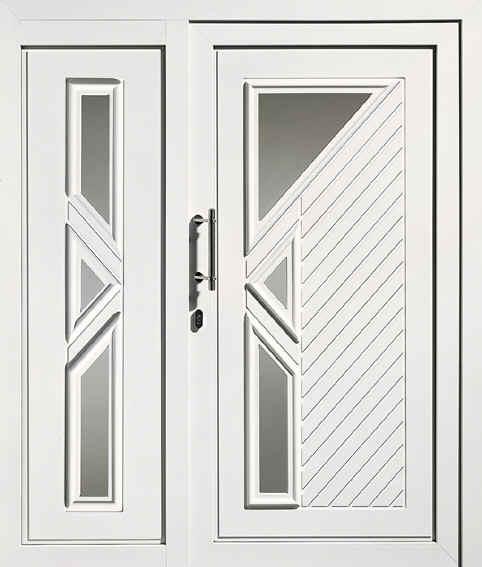 Haust r 2 teilig 1590 x 2170 mm weiss for Fenster 3 teilig